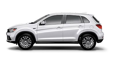 Mitsubishi ASX - Available in Frost White
