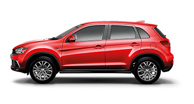 Mitsubishi ASX - Available in Orient Red