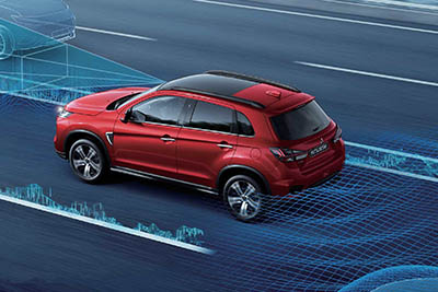 Mitsubishi ASX - Advanced safety
