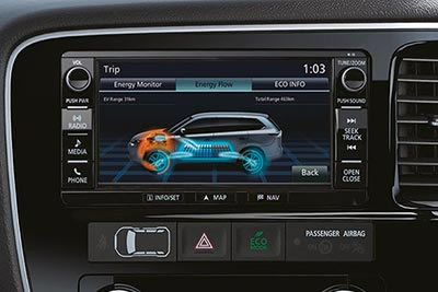 Mitsubishi Outlander PHEV - Multi Communication System