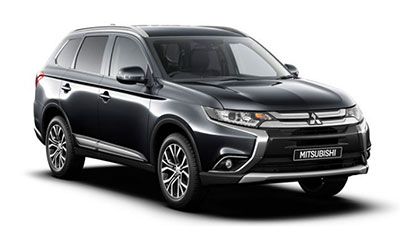 Mitsubishi Outlander - Available in Amethyst Black