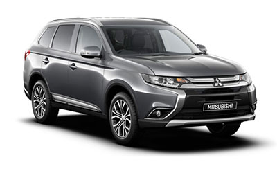 Mitsubishi Outlander - Available in Atlantic Grey
