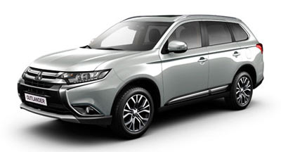 Mitsubishi Outlander - Available in Cool Silver