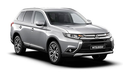 Mitsubishi Outlander - Available in Sterling Silver