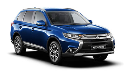 Mitsubishi Outlander - Available in Tanzanite Blue