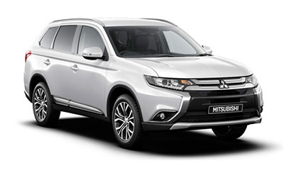 Mitsubishi Outlander - Available in White Pearl
