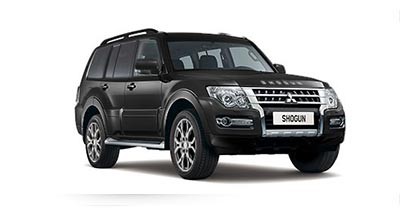 Mitsubishi Shogun - Available in Diamond Black