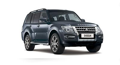 Mitsubishi Shogun - Available in Eiger Grey