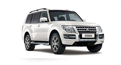 Mitsubishi Shogun - Available in Frost White