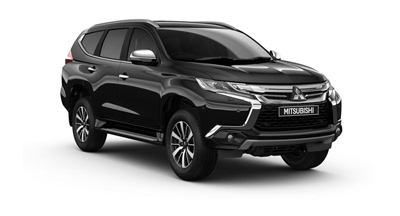 Mitsubishi Shogun - Available in Cosmos Black